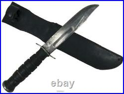 Camillus US Ka-Bar MARK 2 Combat Knife New Leather Sheath Frog Survival Utility