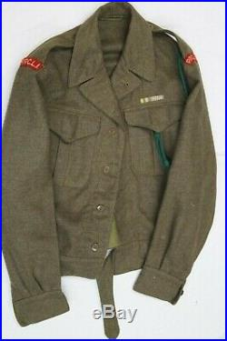 Canadian Korean War Era PPCLI Battle Dress Jacket