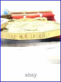 Canadian Korean War Military Cross Medal Group RCR Major Gardner RARE