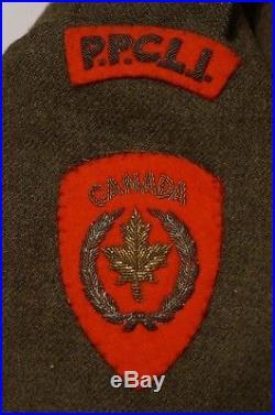Canadian Korean War PPCLI Best Battle Dress Kapyong