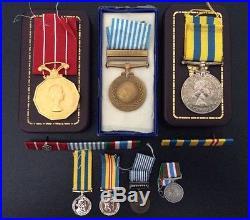 Canadian Korean War Service Grouping / Named / Korea War / WWII / Military Badge