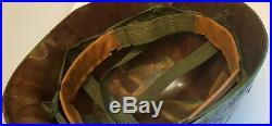 Casque Américain Guerre Vietnam Corée Korean War US M1 1969 Complet Liner Helmet