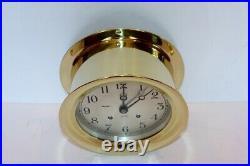 Chelsea Vintage Ships Bell Clock With 6 Dial1951 Korean War Erarestored