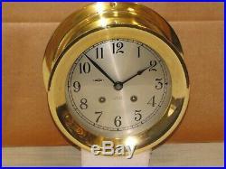 Chelsea Vintage Ships Bell Clock6dialhinged Bezel1952korean Warrestored