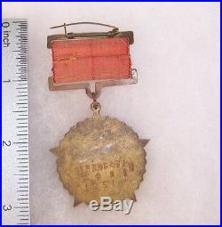 China Korean War Anti American and Help Korea Medal