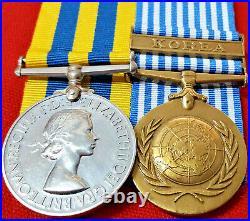 Churchill Specials Korean War Pair Moore C Sqdn 7th Royal Tank Regiment +ww2