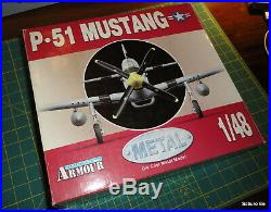 Collection Armour 1/48 P-51 MUSTANG US. AIR FORCE KOREAN War Aces 8008