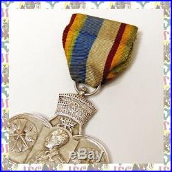 Commemorative Medal for the Korean War 1950 Ethiopia Rastafari Lion of Judah