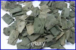 Damaged WWII to Korean War Era US Army Medical 135 Pouches