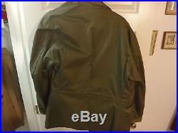 Excellent Estate Find Identified U. S. M. C. Field Jacket, Korean War