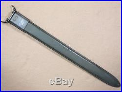 EXCELLENT KOREAN WAR B. M. Co. SCABBARD for the M1917 TRENCH SHOTGUN BAYONET
