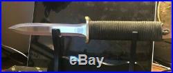 Ek Commando Knife with sheath in box, Vintage. 1941 Korean war, WW2, Vietnam