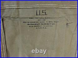Excel. Condition Original Korean War (1953/54) Us Army Canvas/wooden Folding Cot