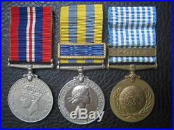 Excellent Korean War Medal Group To A Glosters Pow Heroic Defence Of Hill 314