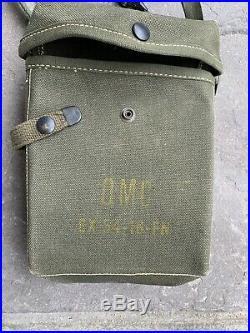 Experimental Ammo Pouch Post Korean War Pre Vietnam War Qmc Marked