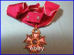 Extremely Rare Us Legion Of Merit Commander Korean War Type In Box Of Issue