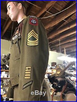 Full Word War 2 Korean War Airmans Uniform