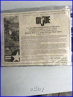 GI Joe Millenium Series Collection Korean War U. S. Army Private First Class