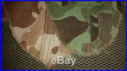 Genuine Korean War Era Usmc Camo Helmet Cover For M-1 Helmet Reversible