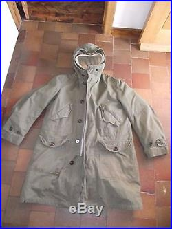 Genuine Vintage US Army Korean war Parka M1947 size Medium