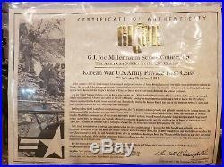 Gi Joe Millennium Series Collection Korean War U. S. Army Private First Class Coa