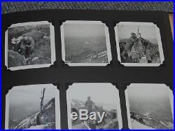 HUGE 1951 KOREAN WAR US Army Military Soldier Photo Album Pictures Gun Tank Car