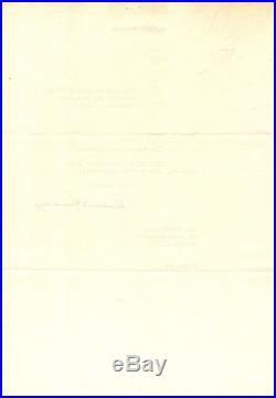 Herbert Hoover Typed Letter Signed Thanks a Korean War Veteran Fine Cond