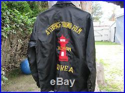 INCHON 1981 KOREAN WAR Film Crew Jacket TOSHIRO MIFUNE TERENCE YOUNG 007