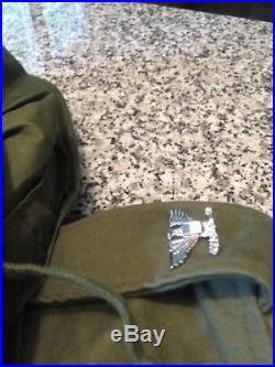 Ied Korean War Era M1951 Field Jacket With Liner & Hood Col. Insignia