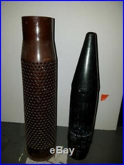 Inert Korean War Era 75mm M310a1 Recoilless Round Complete