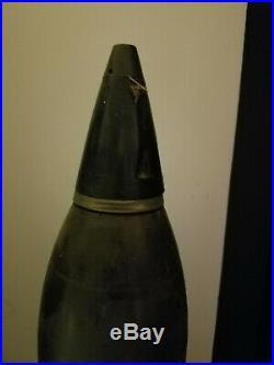 Inert Korean War / Vietnam War 4,2 Inch Mortar Complete With With Shipping Tube