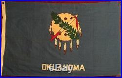 KOREAN WAR 1941 DESIGN OKLAHOMA STATE FLAG VALLEY FORGE 180th INFANTRY REGT