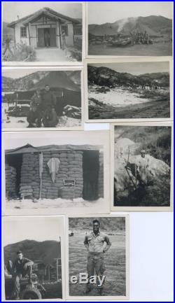 KOREAN WAR. 25th SIG CORPS 190 PHOTOS. 1950s. Loose from album. MILITARY