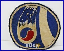 KOREAN WAR South Korea ROKAF PATCH Super Rare W Original Photo W Pilot Wearing