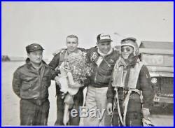 KOREAN WAR US AIR FORCE PATCH Super Rare W Original Photograph W Pilot Wearing