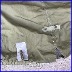 KOREAN WAR US ARMY M1951 M51 FISH TAIL PARKA SHELL HOOD JACKET Small