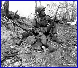 KOREAN WAR/VIETNAM WAR U. S. M1 STEEL HELMET withNET & BAND