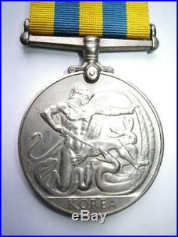 Korea 1950 1953 British & UN Korean War medal Able Seaman K Ray Royal Navy