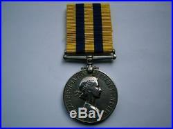 Korea 1950 1953 British & UN Korean War medal Gunner Emerson Royal Artillery