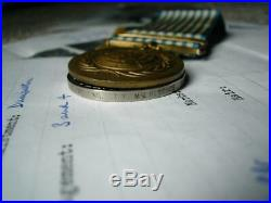 Korea 1950 1953 British & UN Korean War medal pair Gnr McKissick RA & History