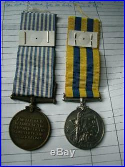 Korea 1950 1953 British & UN Korean War medal pair Gnr Moorehead Royal Artillery