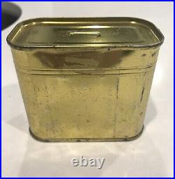 Korean / Vietnam War Food Packet Survival Can With Key Unopened Very Rare