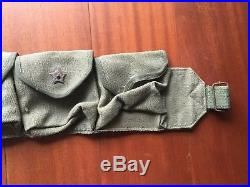 Korean WAR Chinese PVA Ammo Pouch chest Rig