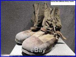 Korean WAR Chinese PVA boots