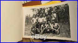 Korean War 180th Infantry Thunderbird Photograph Lot, Dog Tag, Ammo Belt & More