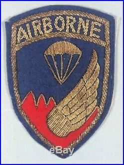 Korean War, 187th RCT, Bullion, Japanese Made, Excellent Condition
