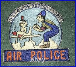 Korean War 18th Fighter Bomber Wing Air Police Dogpatch Korea Squadron Patch