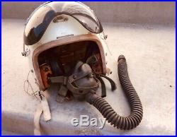 Korean War 1950's USAF Air Force Flight Helmet