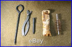 Korean War 1953 Bren Gun Spare Parts Wallet with contents
