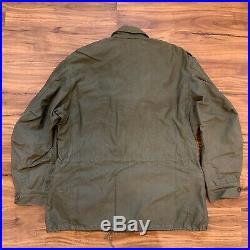 Korean War 1953 M-1951 M51 Field Jacket Medium Short